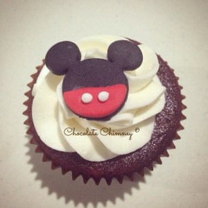 mickey cupcake solo